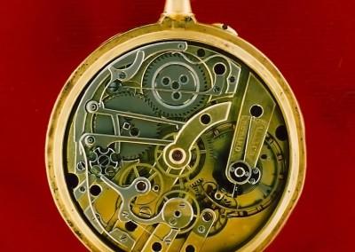 Montre en or chronographe